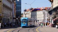 Route 14 in Zagreb