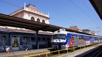 EMU at Zagreb Railway Station