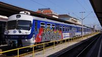 EMU 6 111 018 at Zagreb Railway Station