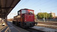 Shunter at Zagreb Railway Station