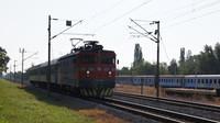 Loco-hauled heading into Zagreb
