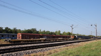 Stored wagons in east Zagreb