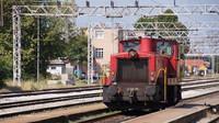Shunter at West Zagreb Station