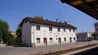 Station building at Zagreb