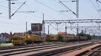Work trains at Dugo Selo