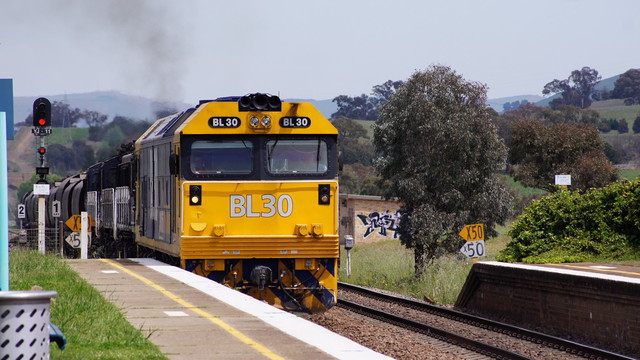 BL30+48+48+48 at Yass Junction