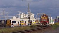 Southern Aurora deparing Melbourne