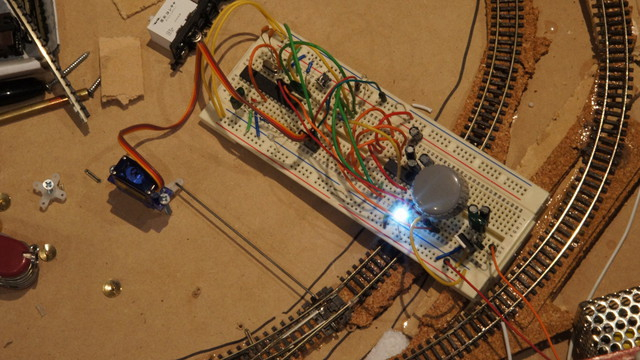 Prototype Arduino + Servo controlling point