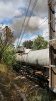 Steamrail between Hawksburn and South Yarra