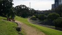 Park just south of South Yarra