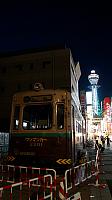Vintage Tram in Shin-Sekai