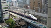 E4 Shinkansen passes Hotel