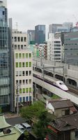 E2 Shinkansen passes Hotel