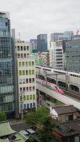 E6 Shinkansen passes Hotel