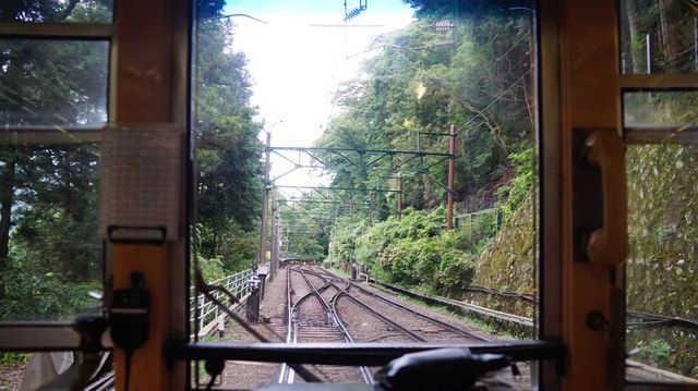 Switchback near Ohiradai Station