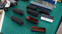 Brass HO Freight Cars
