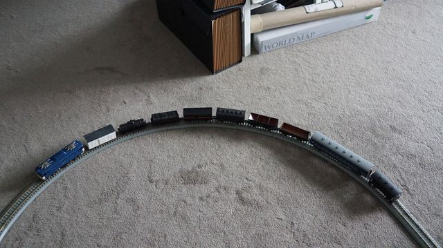Brass HO ED Locomotive Testing