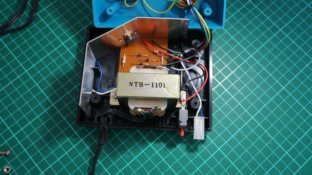 Guts of 110v Kato Powerpack