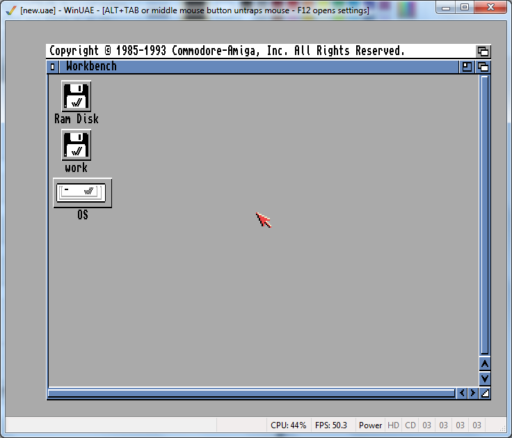 Amiga 1200: Installing AmigaOS 3 9 « modelrail otenko