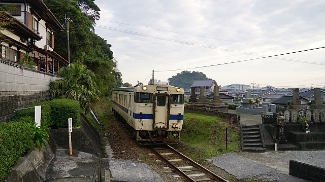 KIHA40 on the Nichinan Line