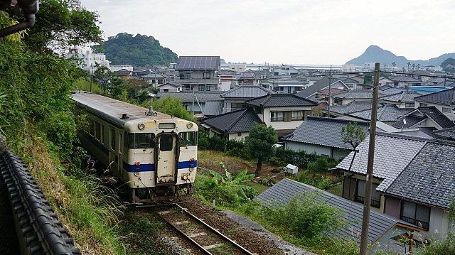 KIHA40 on the Nichinan Line