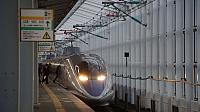 500 Series Shinkansen at Shin-Shimonoseki