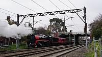 R707 in tow through Hawksburn