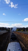 GL112 departs Queanbeyan with 6029 on rear