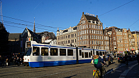 Amsterdam City Xmas Trams