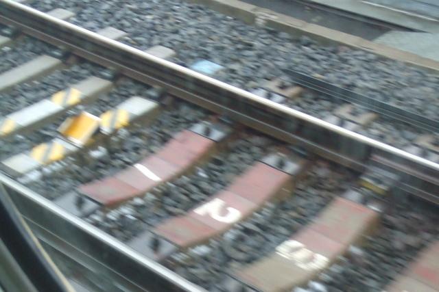 Somewhere near Kyoto on the Shinkansen