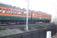 EMU passing Umekoji
