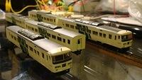 Series 185 Odoriko 5-car set