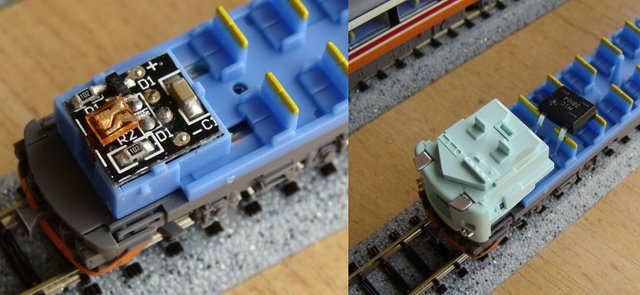 Series 485 lighting components