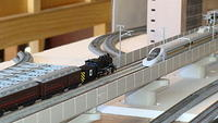 Steam on Shinkansen lines