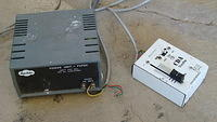 The old power supply (caused problems)