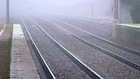 Rails to nowhere.