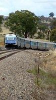 XPT leaves Gunning Station_002