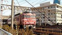 EF81 28 running light in Umeda