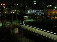 Night time near ShinOsaka Station