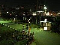 Night time near ShinOsaka Station_001