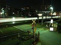 Night time near ShinOsaka Station_002