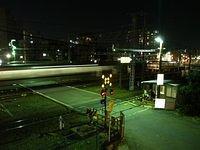 Night time near ShinOsaka Station_003