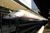 Northbound Shinkansen and Superview Odoriko