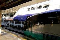 Northbound Shinkansen and Superview Odoriko_001