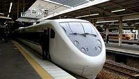 Osaka-Bound Thunderbird at ShinOsaka