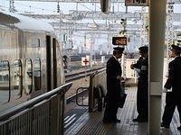 Shinkansen at Shin Osaka