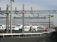 Shinkansen Depot near Senrioka