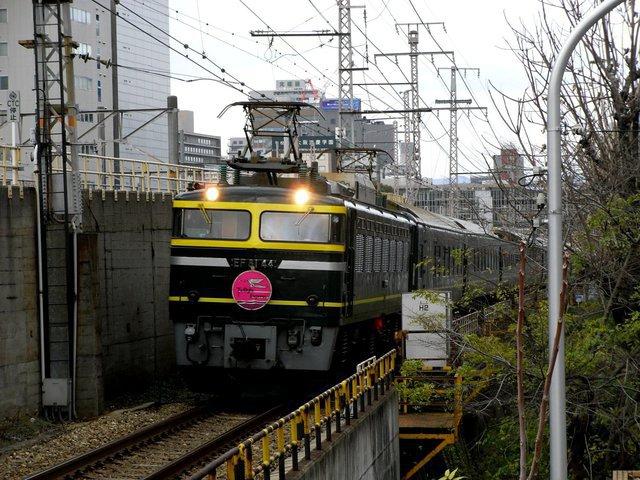Twilight Express heads to Osaka Station