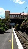 The old station entrance at Lithgow