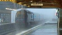 XPT disappears into the storm